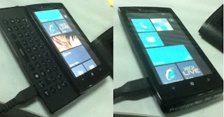 Sony Ericsson Windows Phone prototype picture leaked