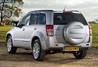 Suzuki Grand Vitara 5-Door (2013) Rear Side