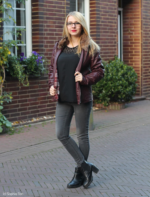 Leather jacket for winter | Jeans Fritz
