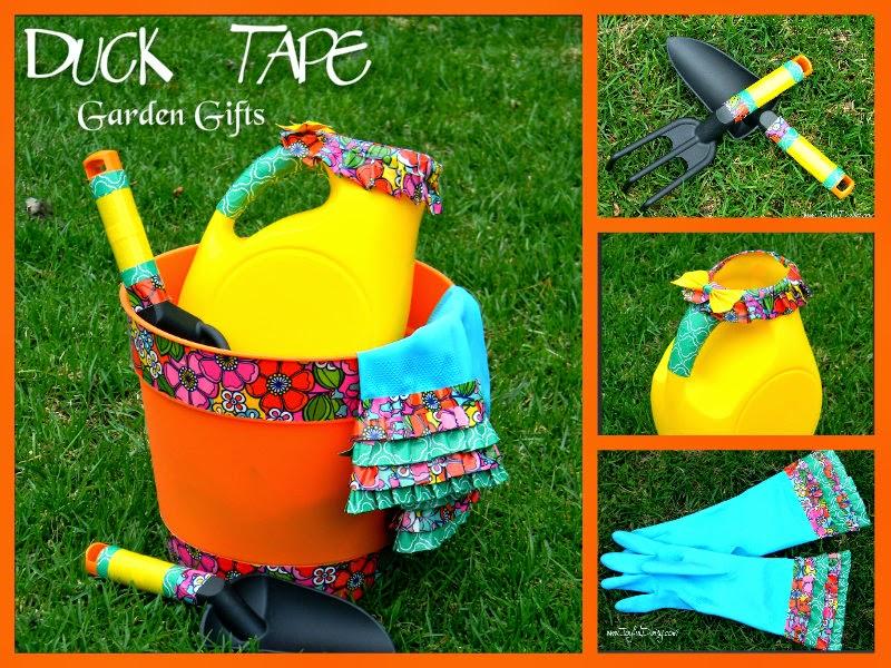 http://joyfuldaisy.com/duck-tape-gifts-garden/