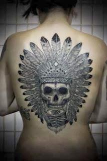 Tatuagem de tribo indigena