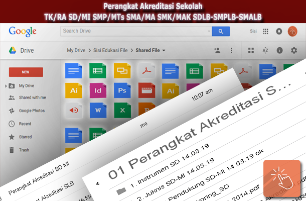 Perangkat Akreditasi Sekolah TK/RA SD/MI SMP/MTs SMA/MA SMK/MAK SDLB-SMPLB-SMALB