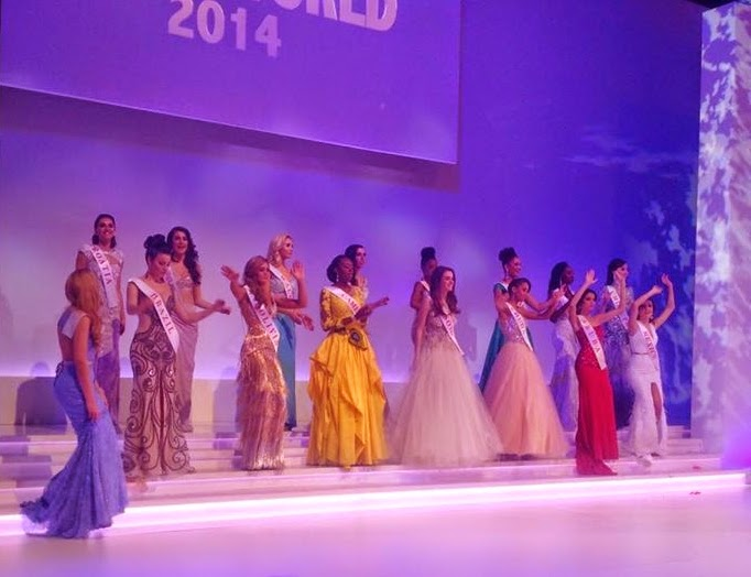 Larissa Ngangoum - Miss Cameroun 2014 at Miss World 2014