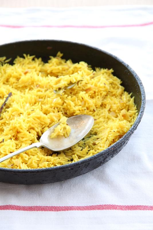 Aromatyczny ryż po indyjsku