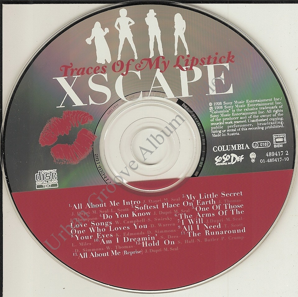 Xscape Traces Of My Lipstick Xscape - Traces of my ...