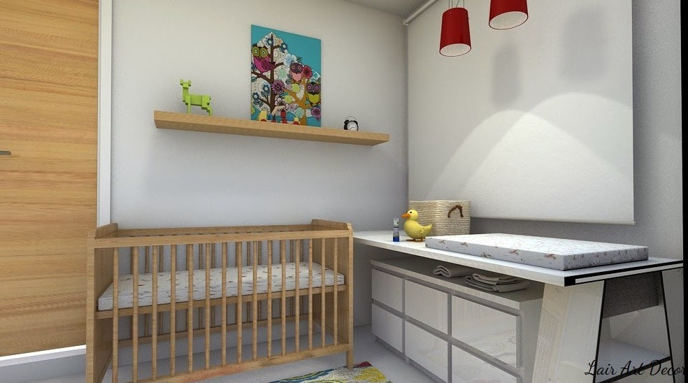 Lair art decor: soluciones para habitaciÓn muy pequeÑa, de bebÉ a ...