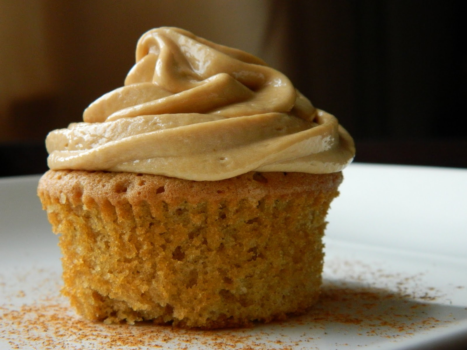 Biscoff Cupcakes With Biscoff Frosting - Sweet as a Cookie