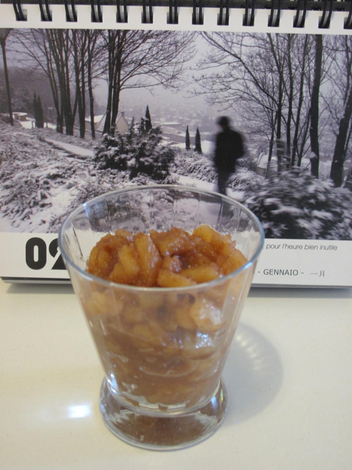 Gourmandises homecooked dessert compote de pommes - Compote de poire maison ...