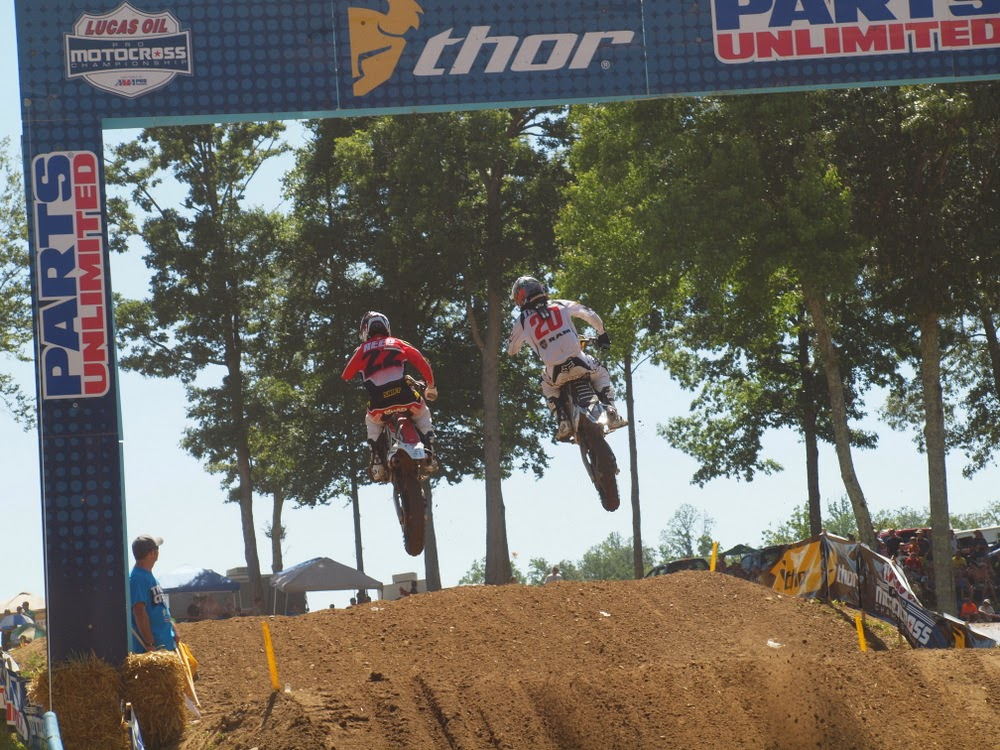 Chad Reed and Broc Tickle - Budds Creek 2013