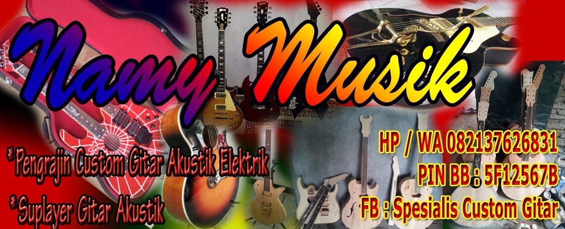 Pengrajin Gitar Akustik dan Elektrik Custom dan Suplayer Gitar Indonesia