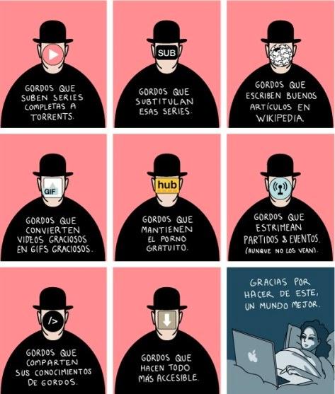 Heroes anonimos de Internet