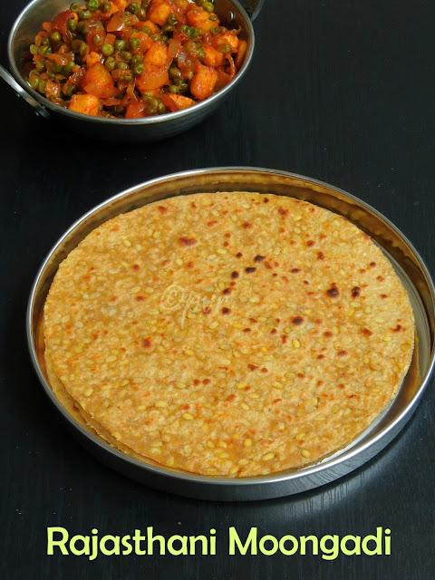 Rajasthani Moongadi, Mogar roti