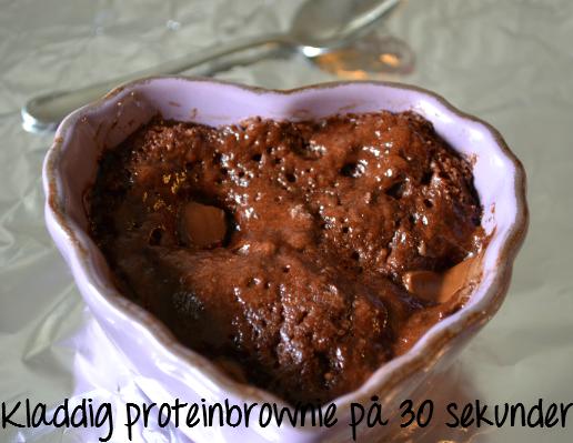 recept proteinpulver choklad
