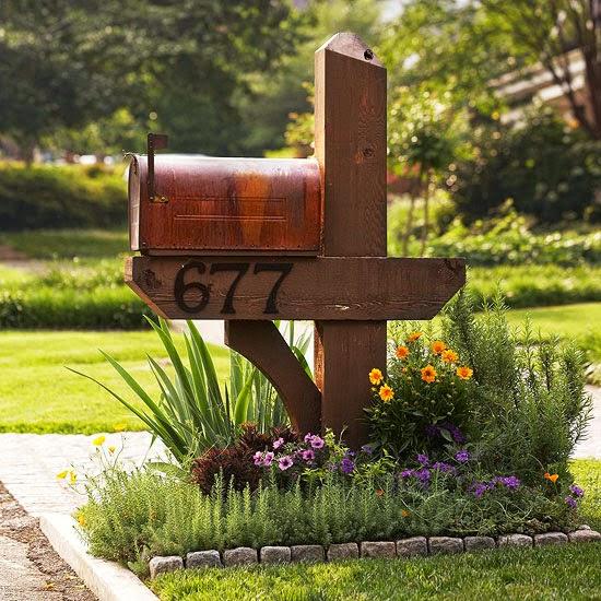 the fascinating diy mailbox flower garden design ideas picture