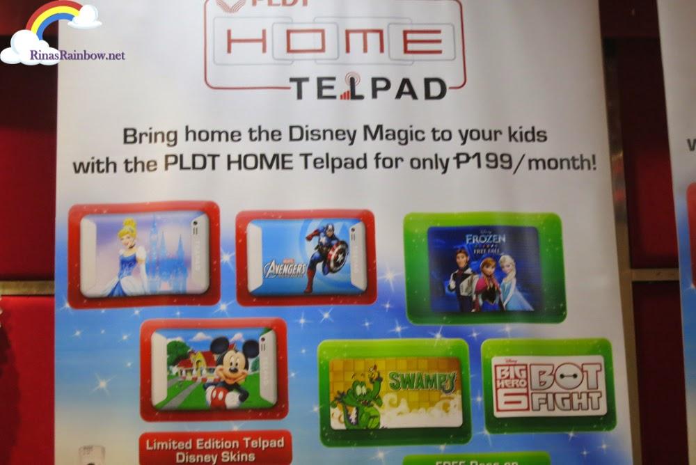 Disney skins PLDT HOME TelPad