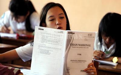 ujian nasional, kisi kisi