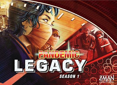 Pandemic Legacy board game - Matt Leacock, Rob Daviau