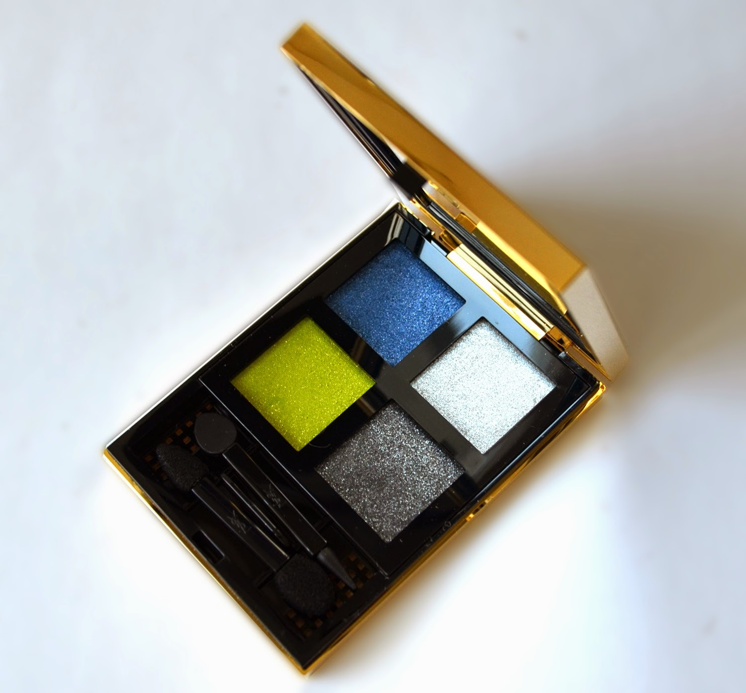 Ysl palette city drive arty wet dry eyeshadows from fallwinter ysl palette city drive arty wet dry eyeshadows there are two wet dry eyeshadow quad released with fall 2013 collection arty and classy ccuart Gallery