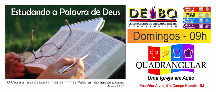 ESCOLA BÍBLICA QUADRANGULAR