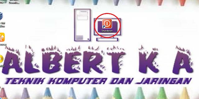 Cara Membuat Shortcut Shutdown Di Dekstop Personal Computer (PC) atau Laptop Kita