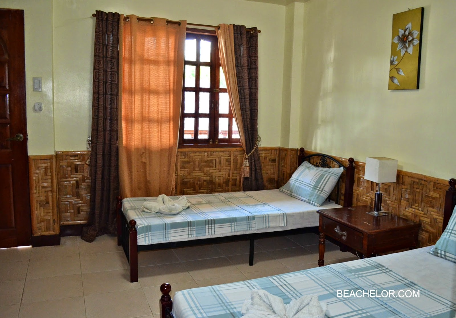 inside our room at coucou bar hotel bantayan island