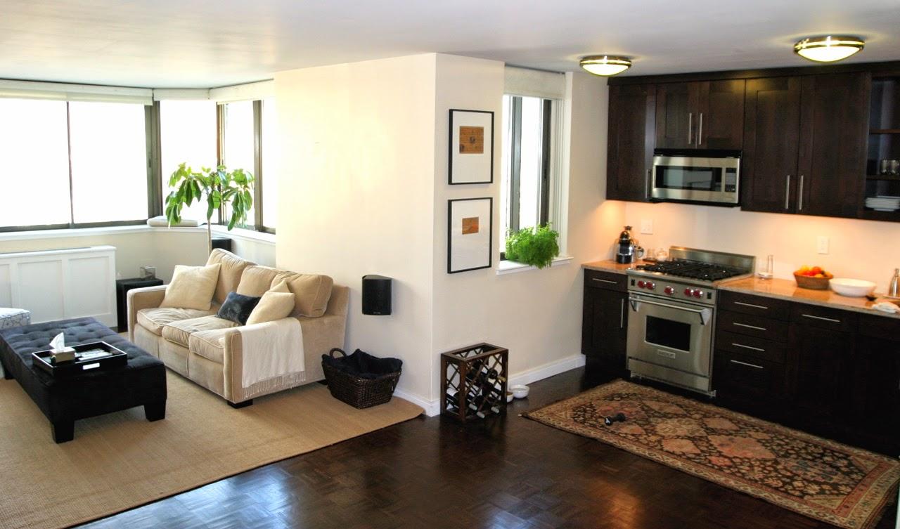 Buena organizacion para espacios peque os decoracion for Decoracion de sala comedor y cocina en espacios pequenos