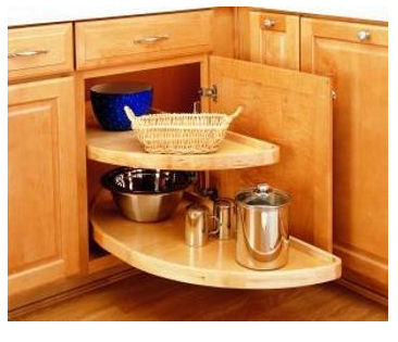 home sweet home blind corner cabinet storage solution