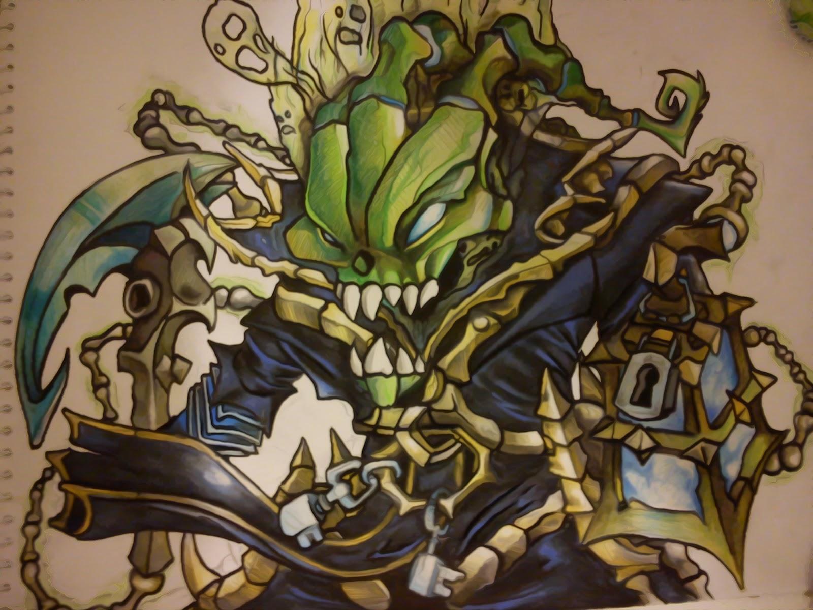 Thresh League of Legends Wallpaper