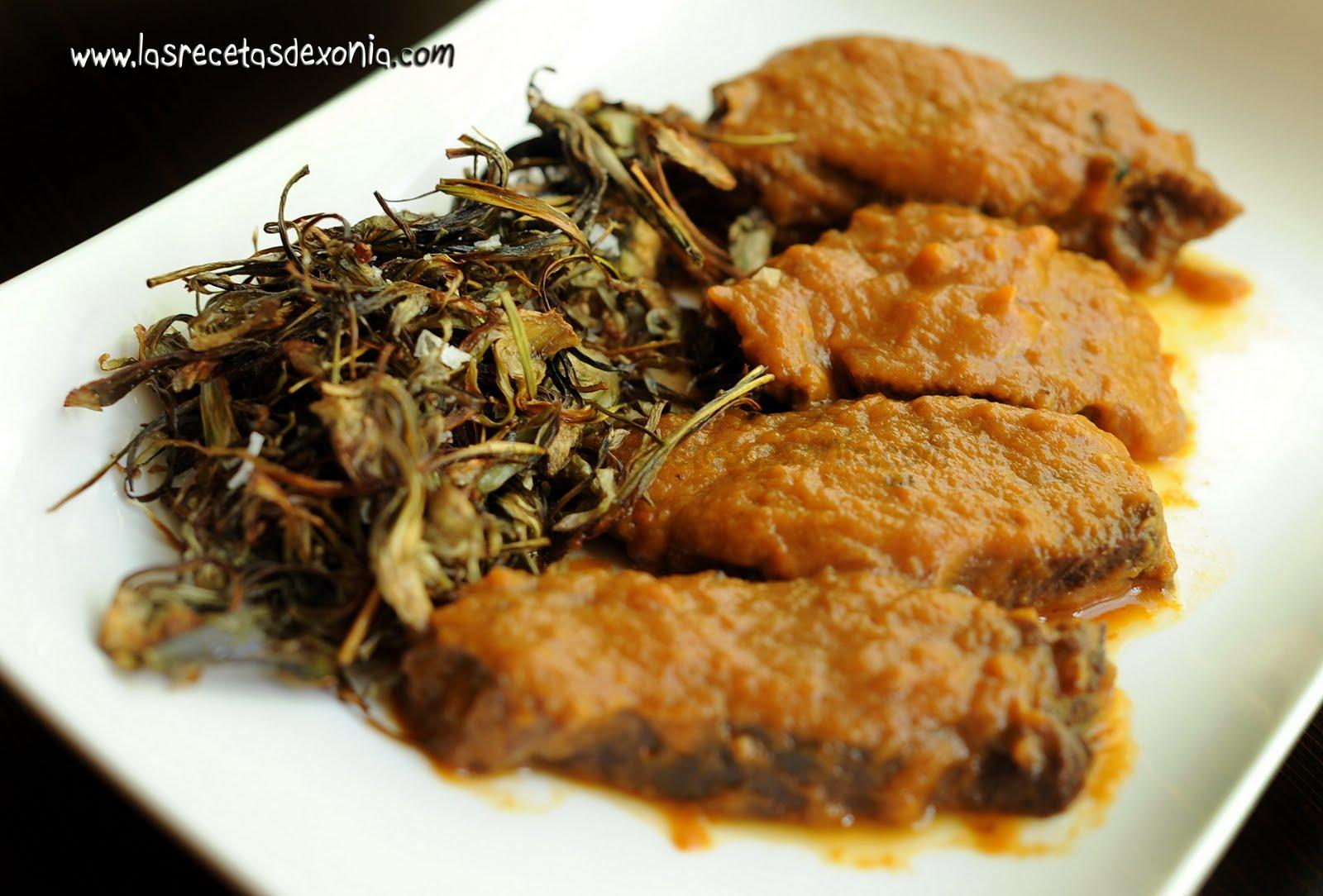 Carrilleras de ternera en salsa las recetas de xonia - Carrilladas de ternera ...