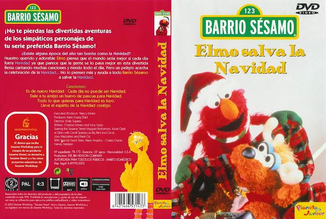 Fondos de escritorio - Imagenes: Elmo Salva La Navidad Caratula