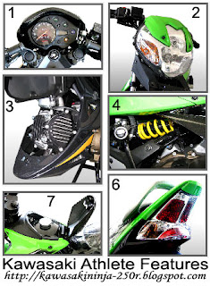 Kawasaki Athlete features