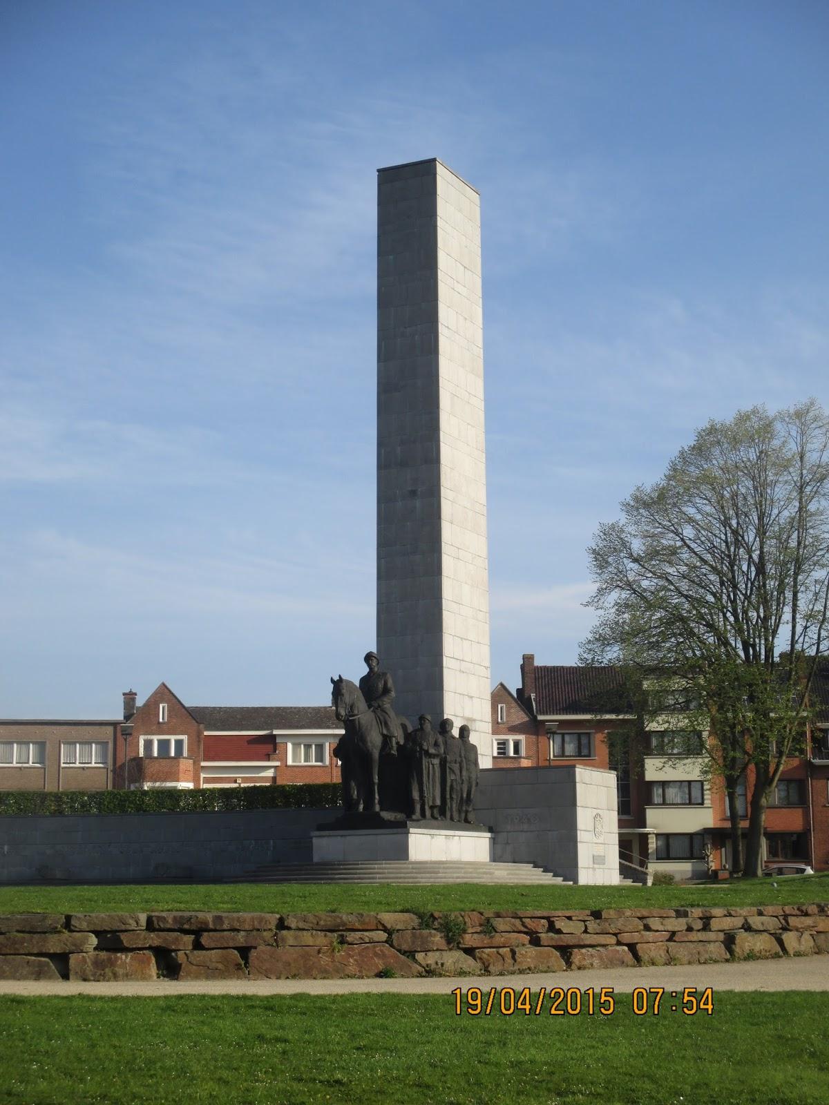 Nationaal Leiemonument in Kortrijk