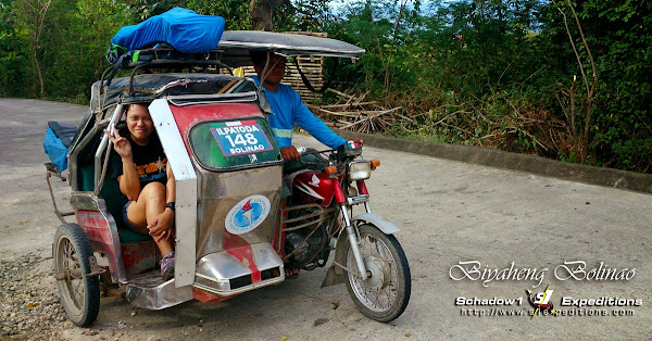 Bolinao Tricycle - Schadow1 Expeditions