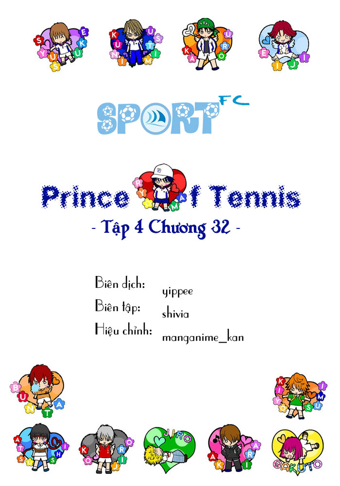 Prince of Tennis chap 32 Trang 1