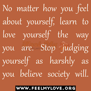 No matter how you feel about yourself