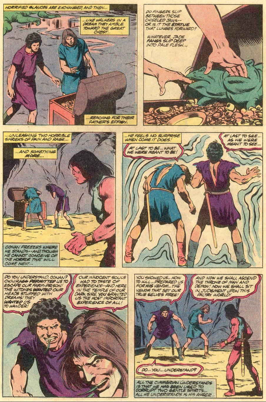 Conan the Barbarian (1970) Issue #125 #137 - English 21