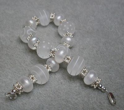Bridal bracelet by Claire Francis