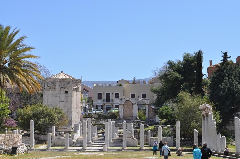 Artyshow l 39 agora romaine d 39 ath nes for Agora mobiliario s l