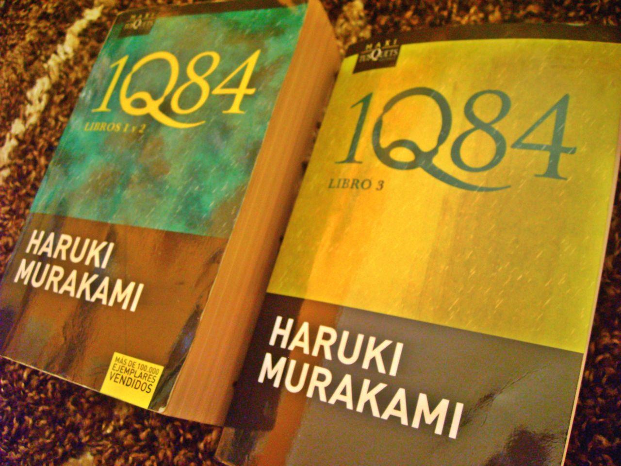 libros 1Q84 de murakami