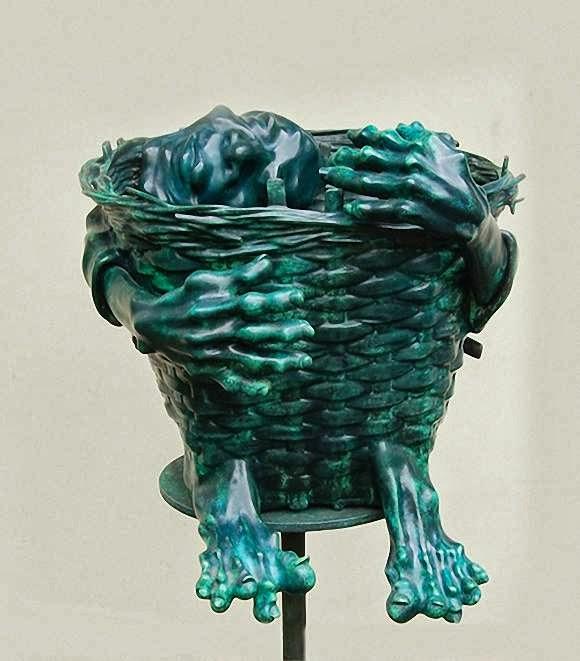 Gambar patung Ivan Sagito Biografi dan karyanya