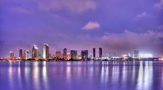 サンディエゴ夜景
