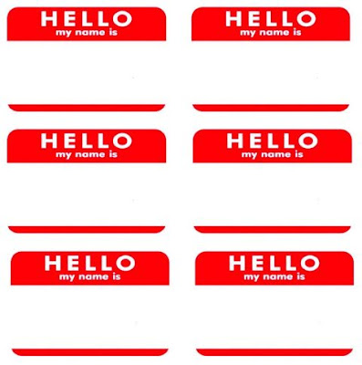 Graphics For Hello Name Is Fillable