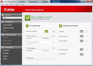 Download Avira Terbaru 2012