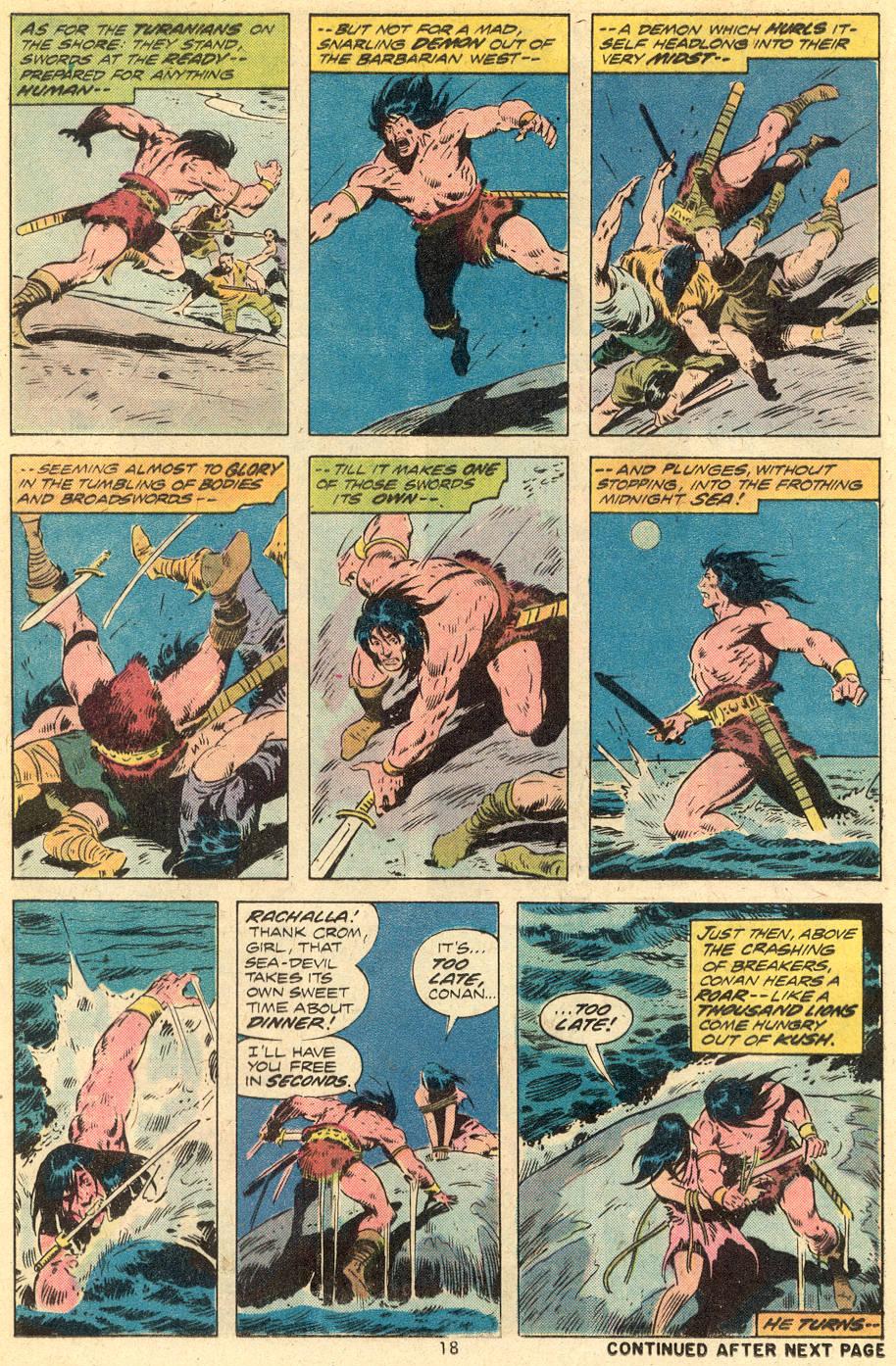 Conan the Barbarian (1970) Issue #39 #51 - English 13