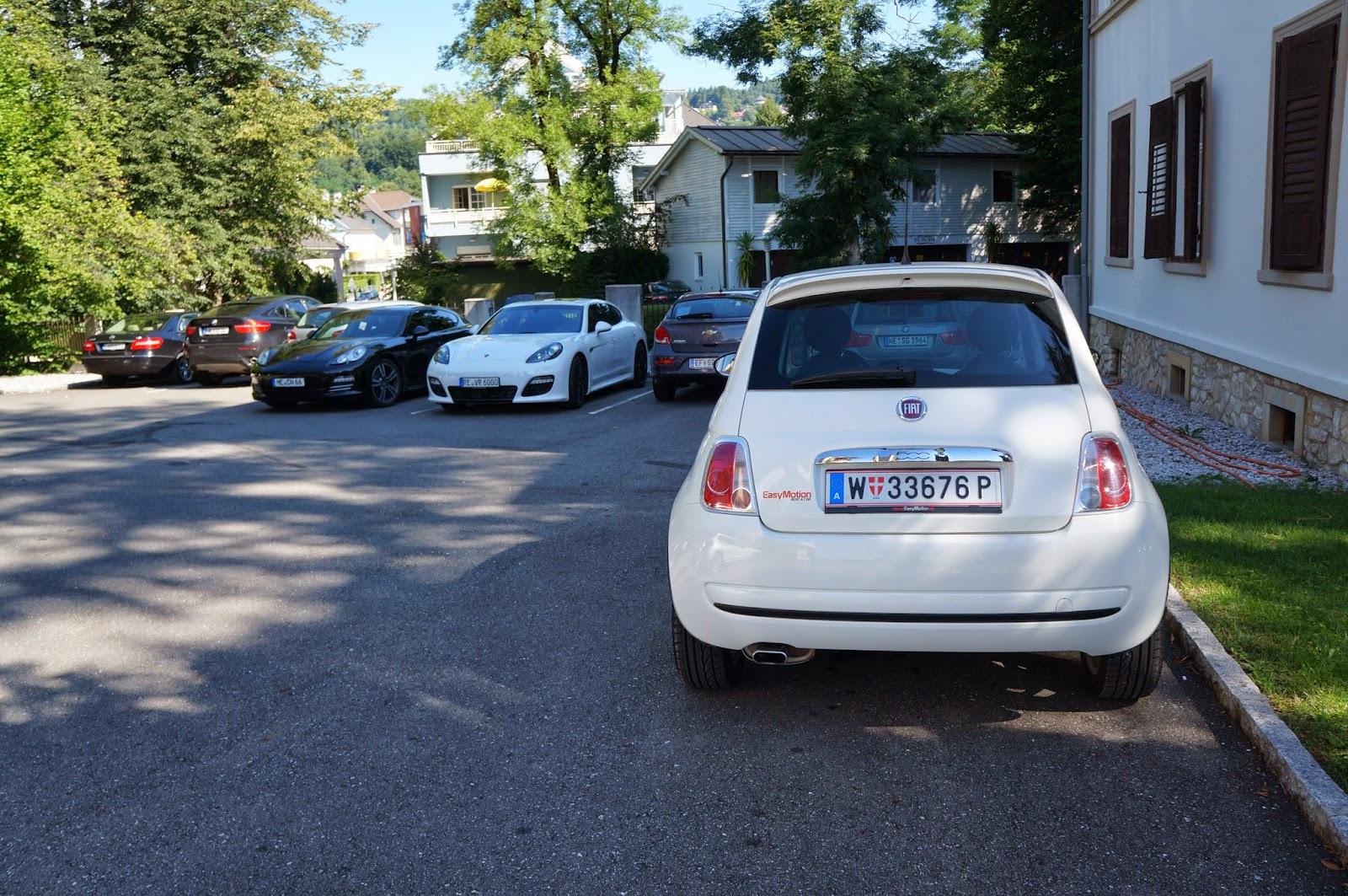 Fiat 500 Rent