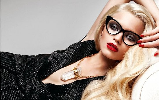 Tom Ford cat eye glasses on Fashion and Cookies fashion blog