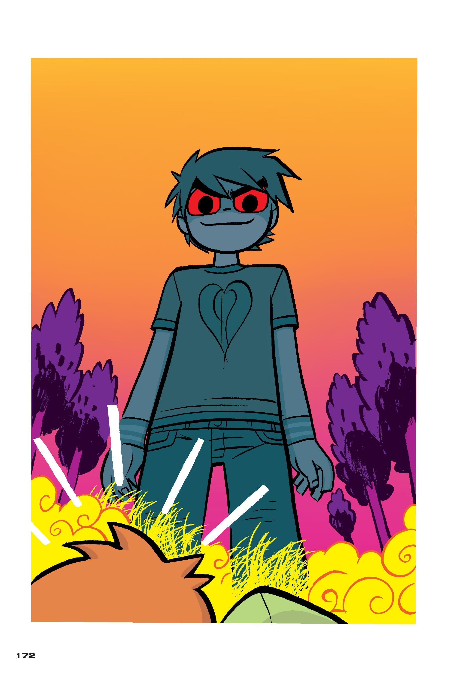 Read online Scott Pilgrim comic -  Issue #4 - 169