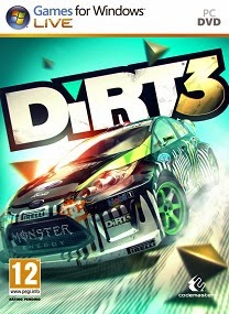 dirt 3 pc game cover Dirt 3 Incl All DLC Repack PC Game