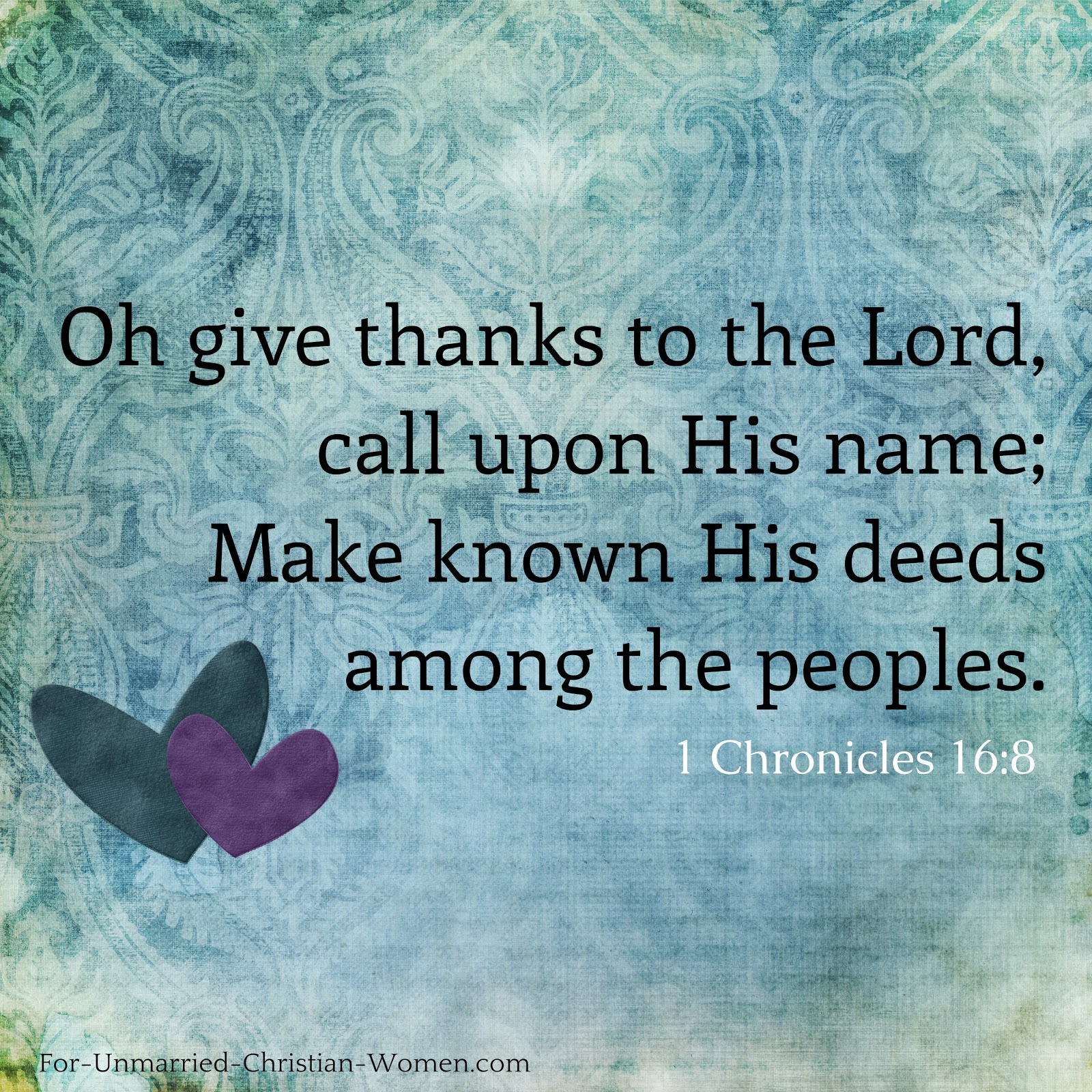 biblical quote about being thankful