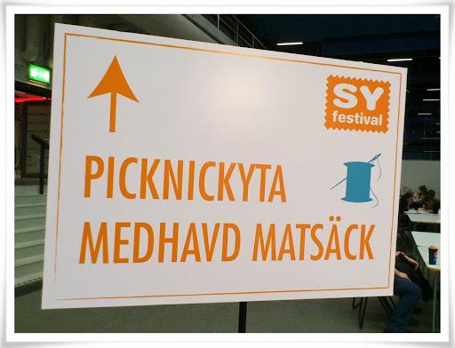 Picknick-skylten